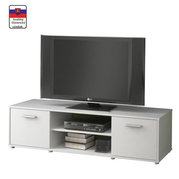 TV stolík, biela ZUNO NEW 01
