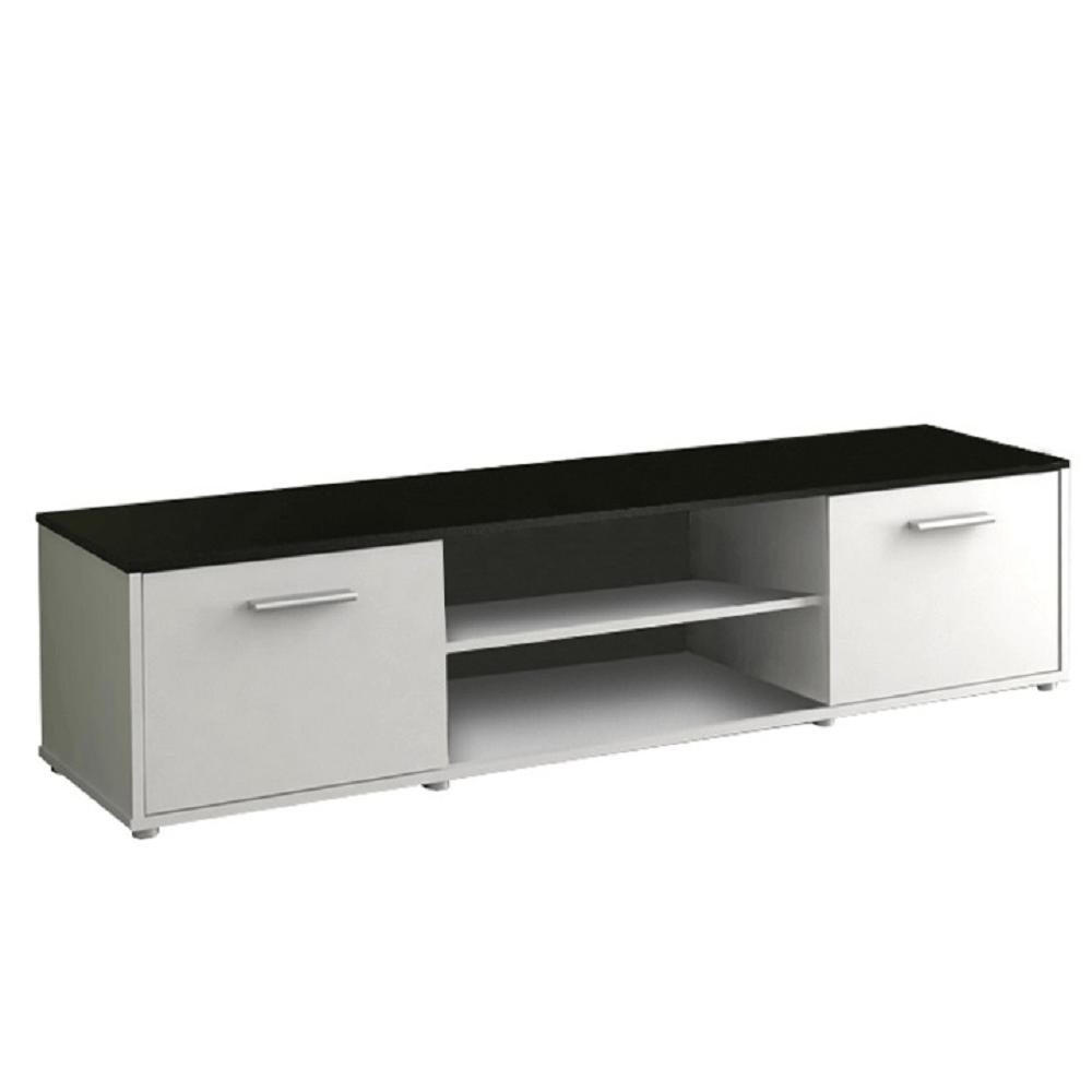 TV masă, alb/negru, ZUNO NEW 02
