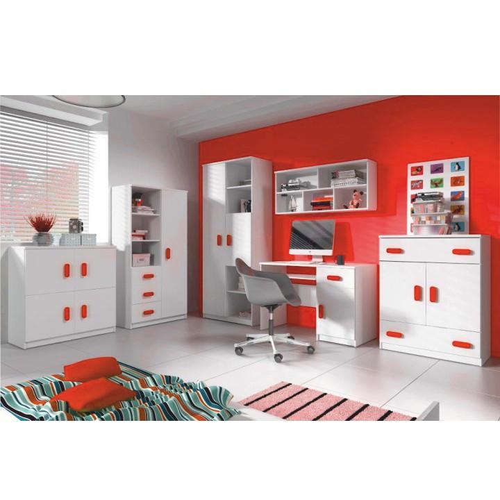 Úchytky, červená, SVEND, interiér