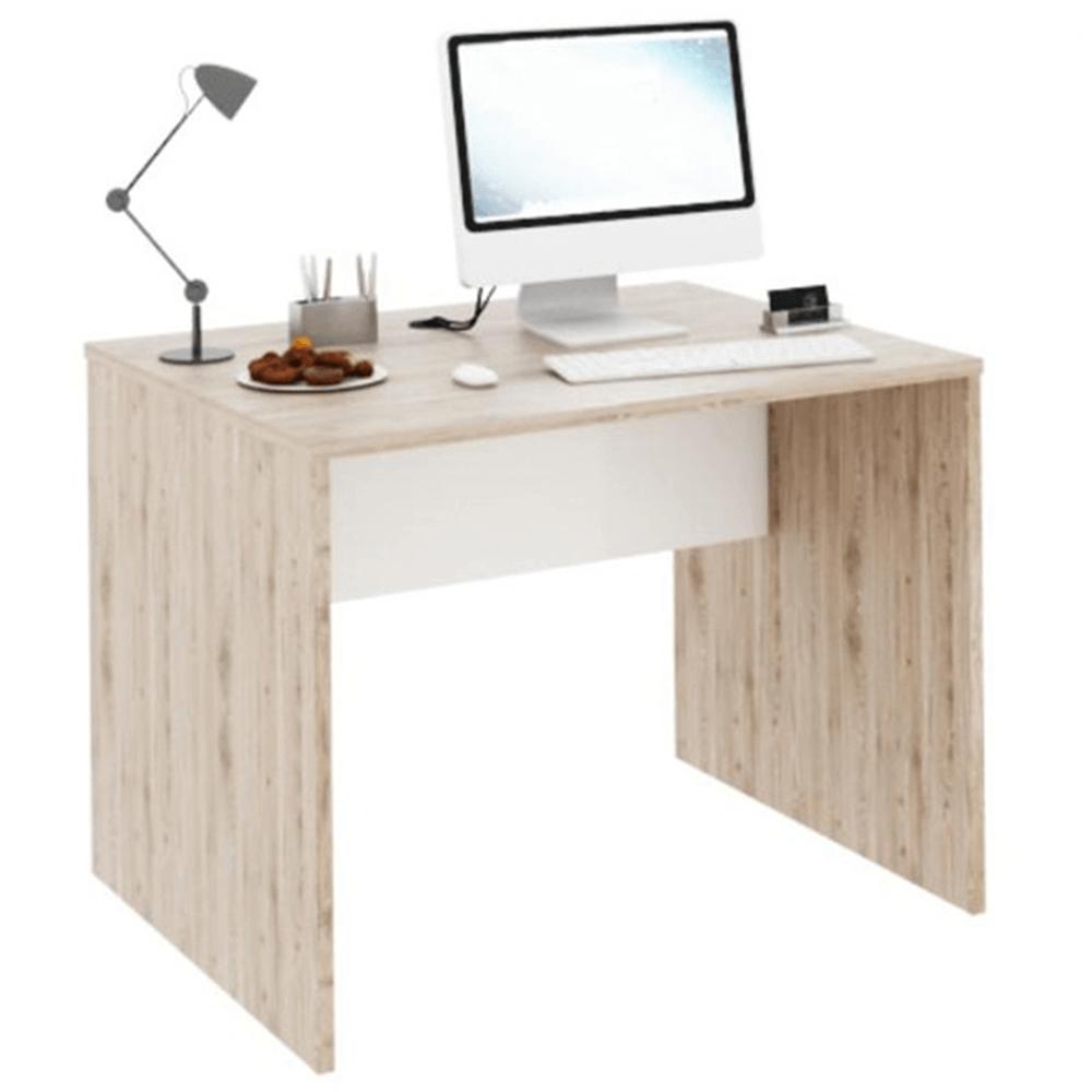 Masă pentru calculator, San Remo/alb, RIOMA TYP 12