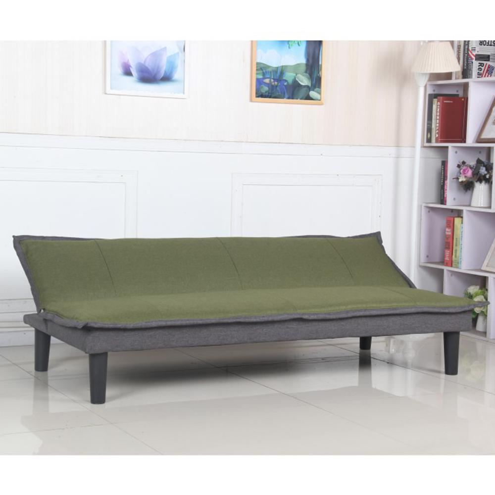 Colţar extensibil, material verde/gri, FILA