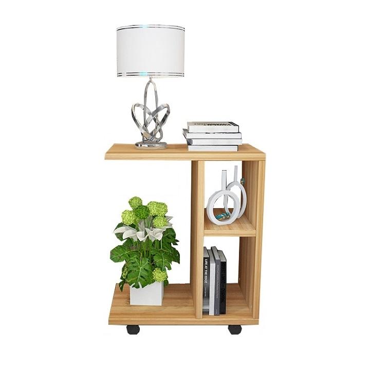 Príručný stolík, drevo borovica, ABBAS