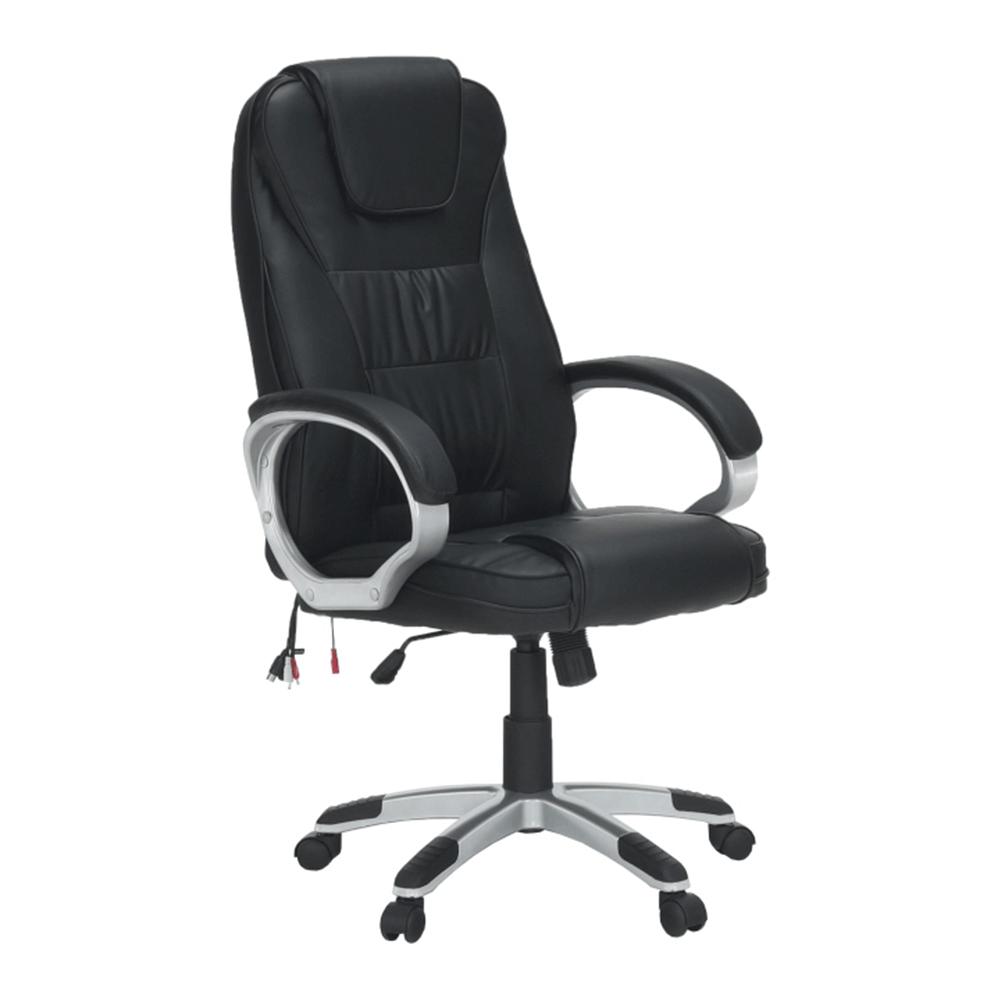 Irodai fotel, masszázs funkcióval,fekete, TYLER UT-C2652M