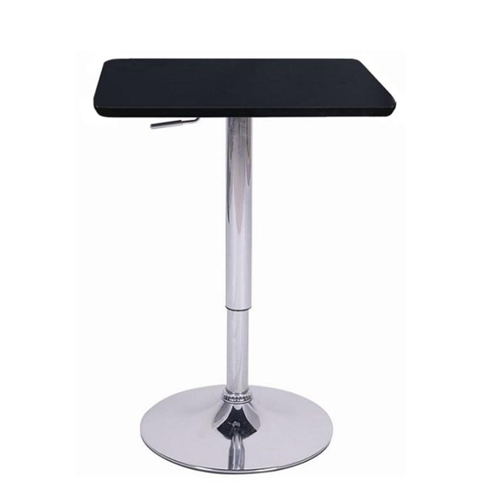 Magasság állítható bárasztal, fekete, FLORIAN