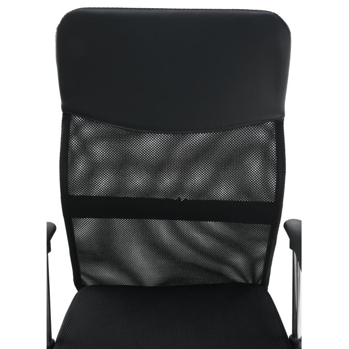 Kancelárske kreslo, čierna, TC3-973M 2 NEW - detail opierka