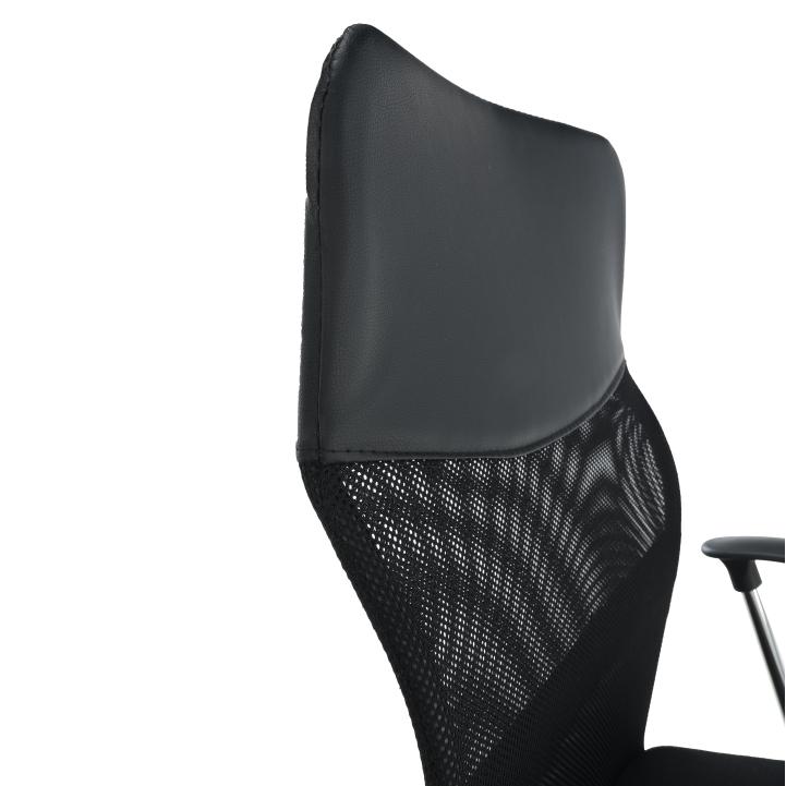 Kancelárske kreslo, čierna, TC3-973M 2 NEW - detail opierka z boku