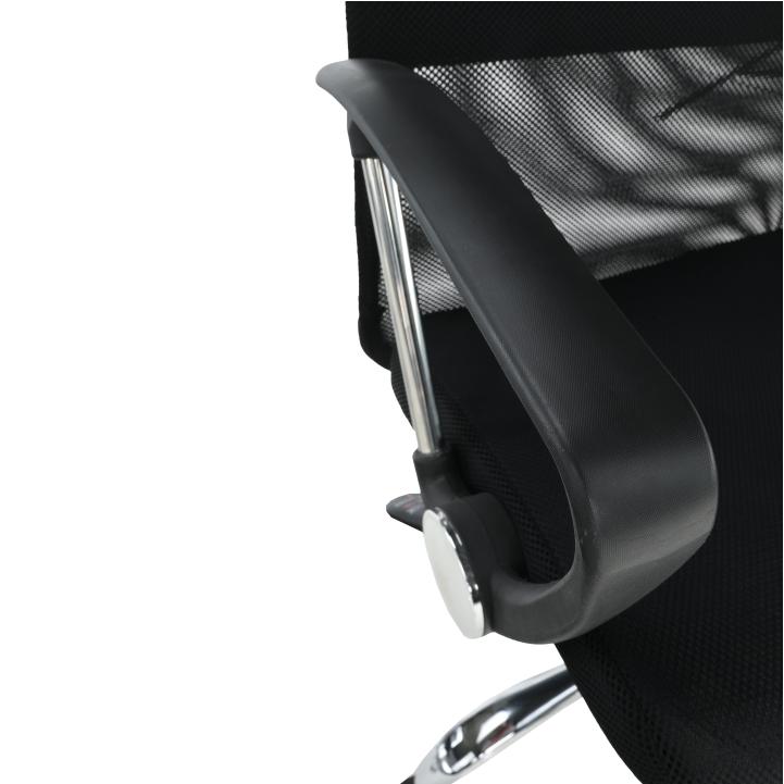 Kancelárske kreslo, čierna, TC3-973M 2 NEW - opierka rúk