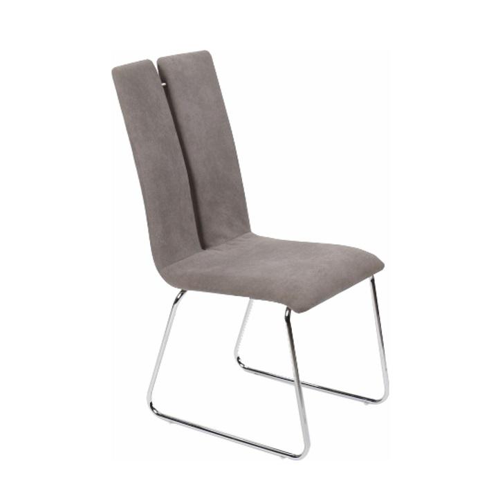 Jedálenská stolička, sivá, MERT