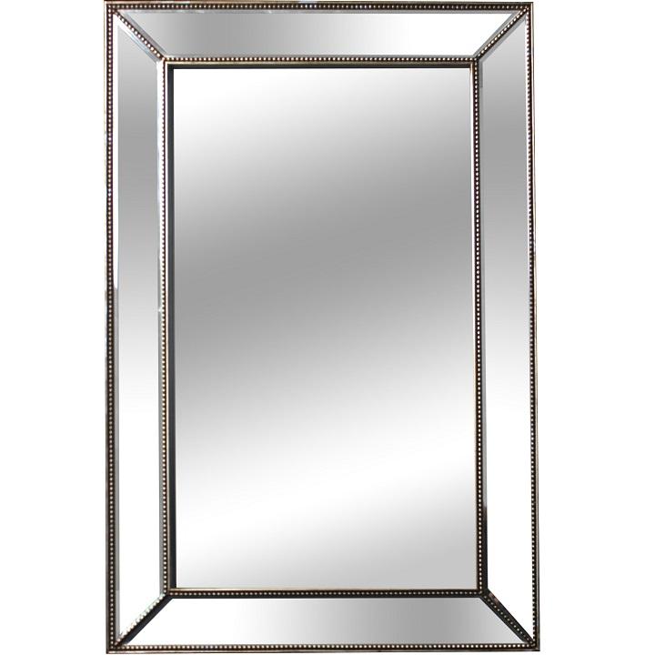 Zrkadlo, sklo, ELISON TYP 7, na bielom pozadí