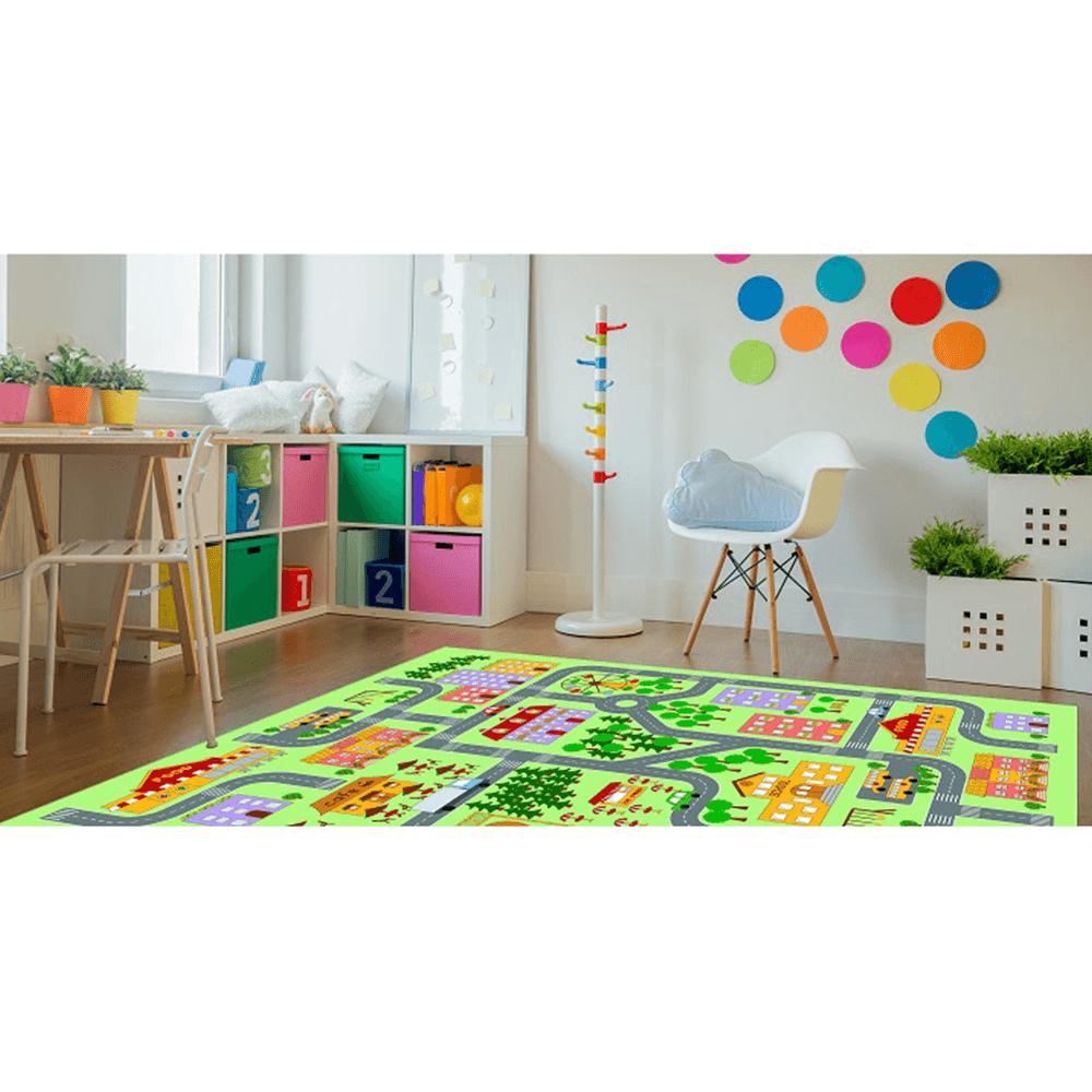 Szőnyeg, színes, 100x150, EBEL