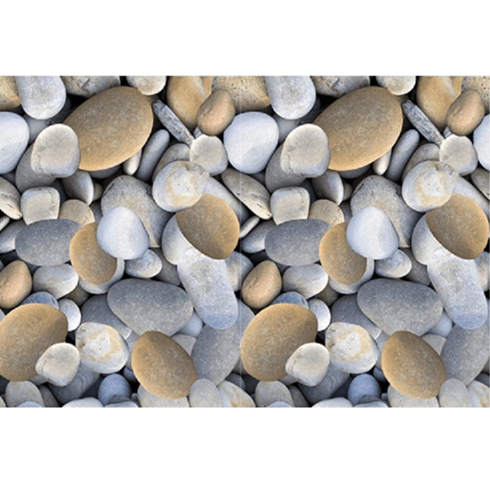 Szőnyeg, színes, minta kövek, 80x200, BESS