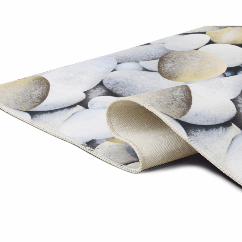 Szőnyeg, színes, minta kövek, 120x180, BESS