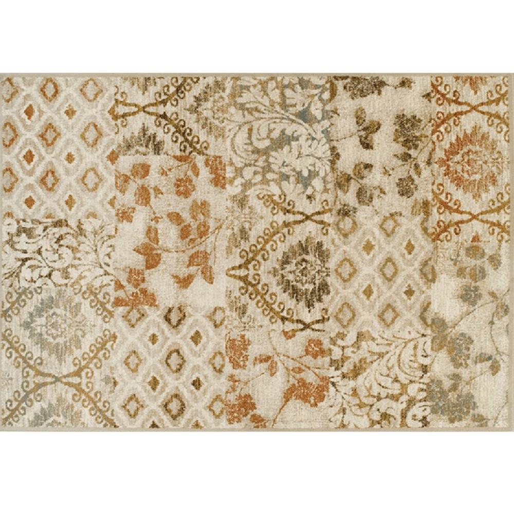 Szőnyeg, színes, 67x120 cm, TAMARAI