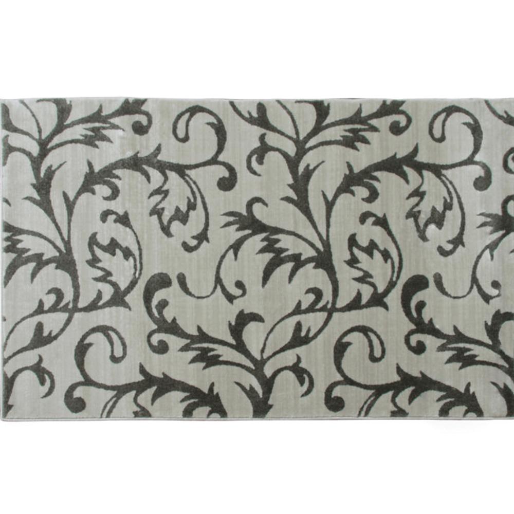 Szőnyeg, bézs/szürke minta, 57x90, GABBY