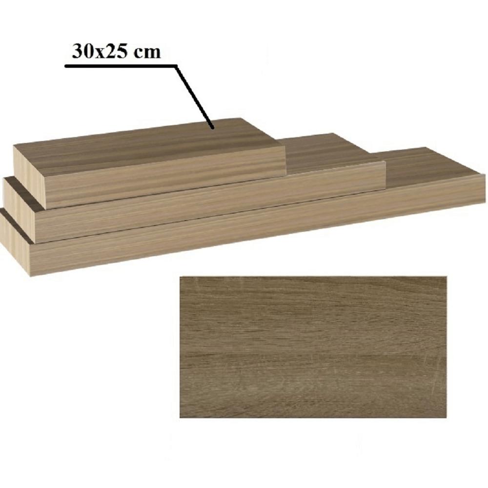 Polc, tölgy trufla, 30x25, GANA FY 11044-3 60