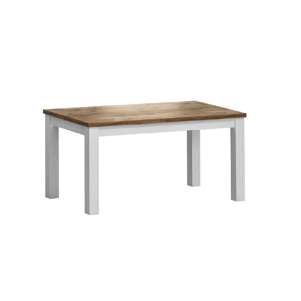 Asztal STD, nyitható, sosna andersen/tölgy lefkas, PROVANCE