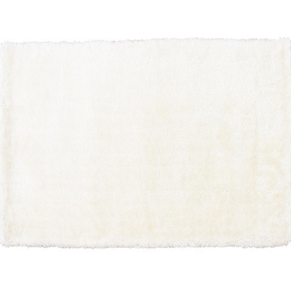 Szőnyeg, hófehér, 140x200, AMIDA