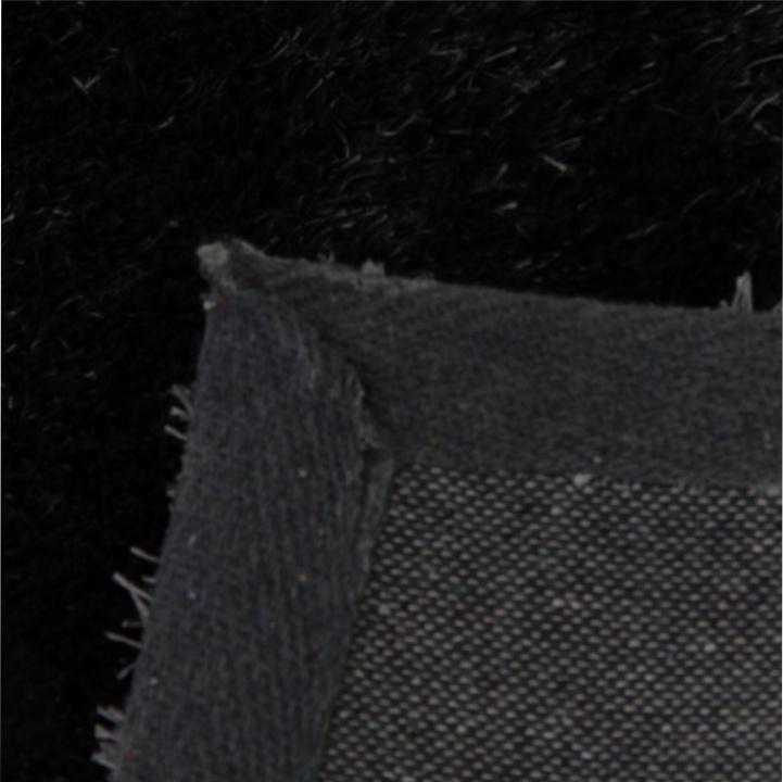 Koberec, sivá, 140x200, zadná strana koberca, DELLA