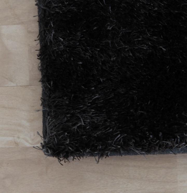 Koberec, sivá, 140x200, detail na farbu, DELLA