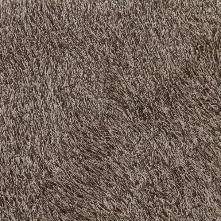 Koberec, hnedá, 80x150, výška vlasu, materiál a farbu, GARSON