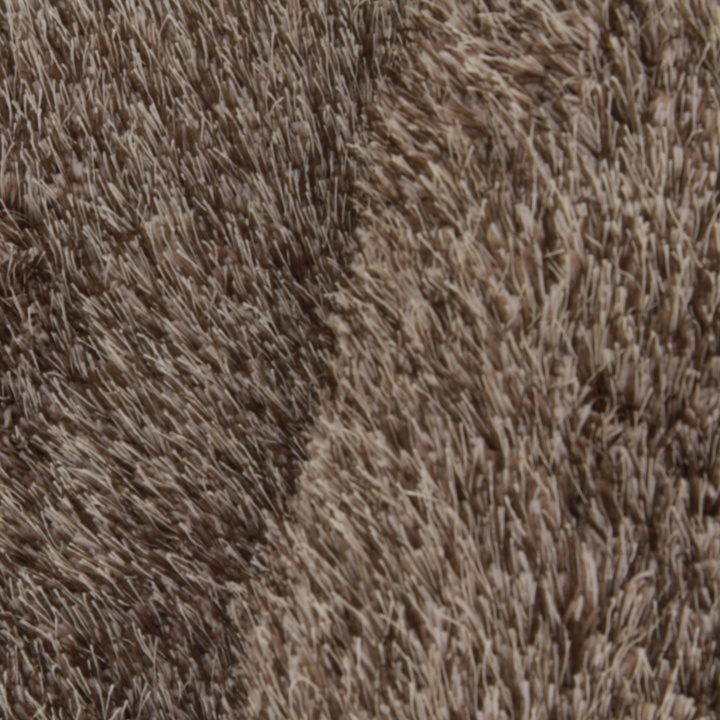 Koberec, hnedá, 80x150, detail na farbu a výšku vlasu, GARSON