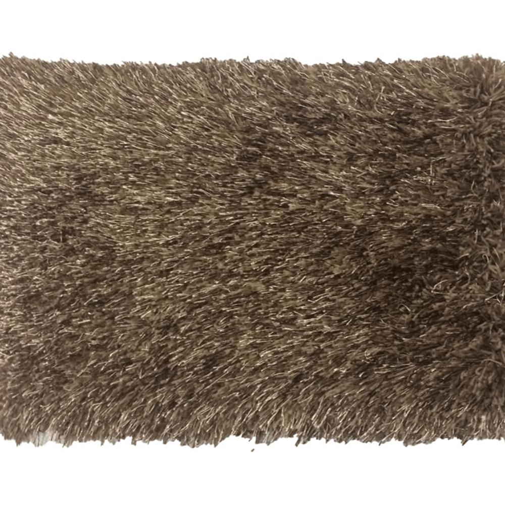 Szőnyeg, barna, 170x240, GARSON