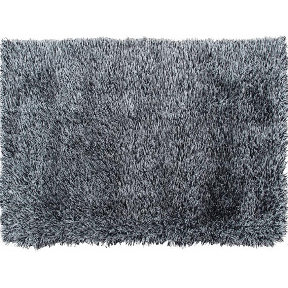 Szőnyeg, bézs-fekete, 80x150, VILAN