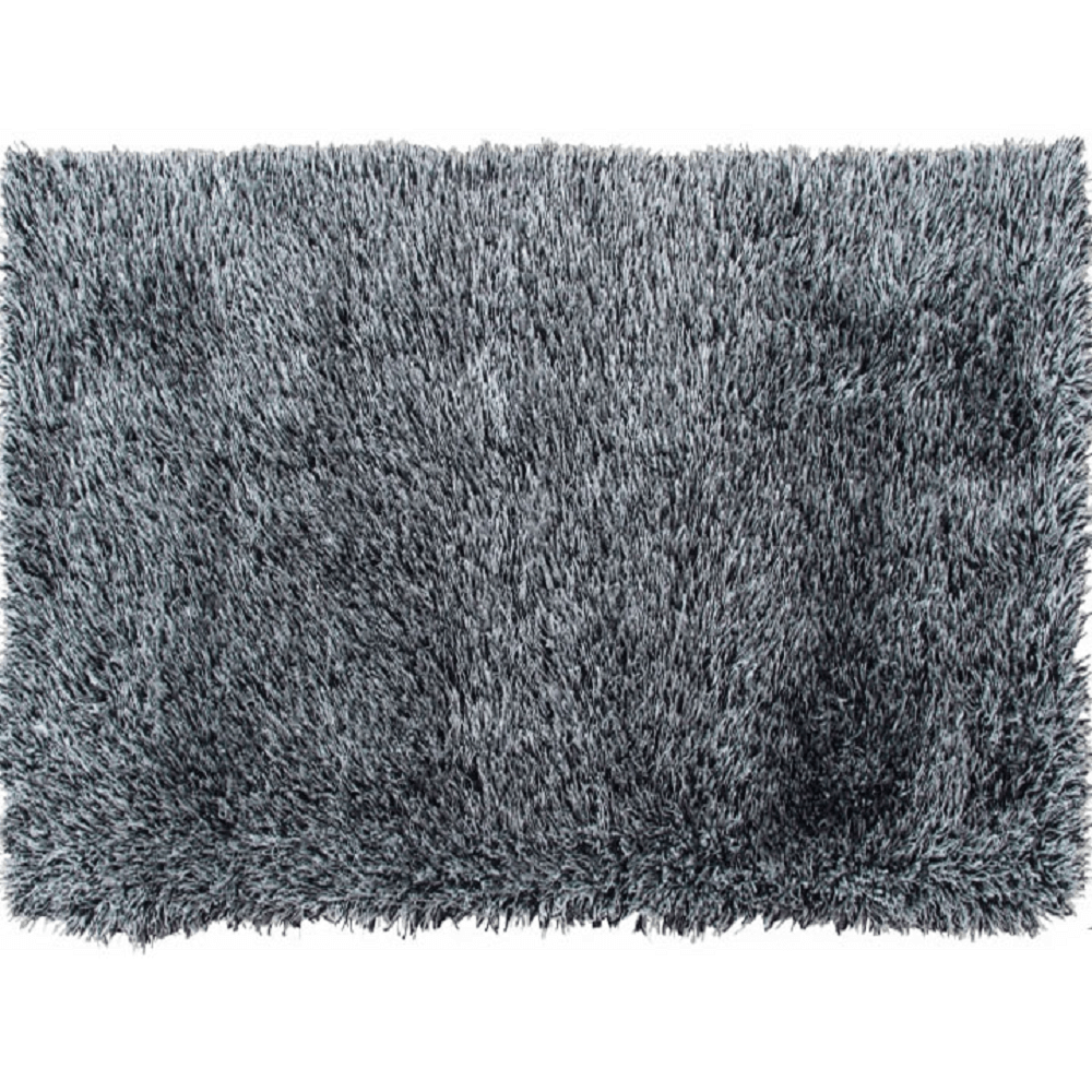Szőnyeg, bézs-fekete, 140x200, VILAN