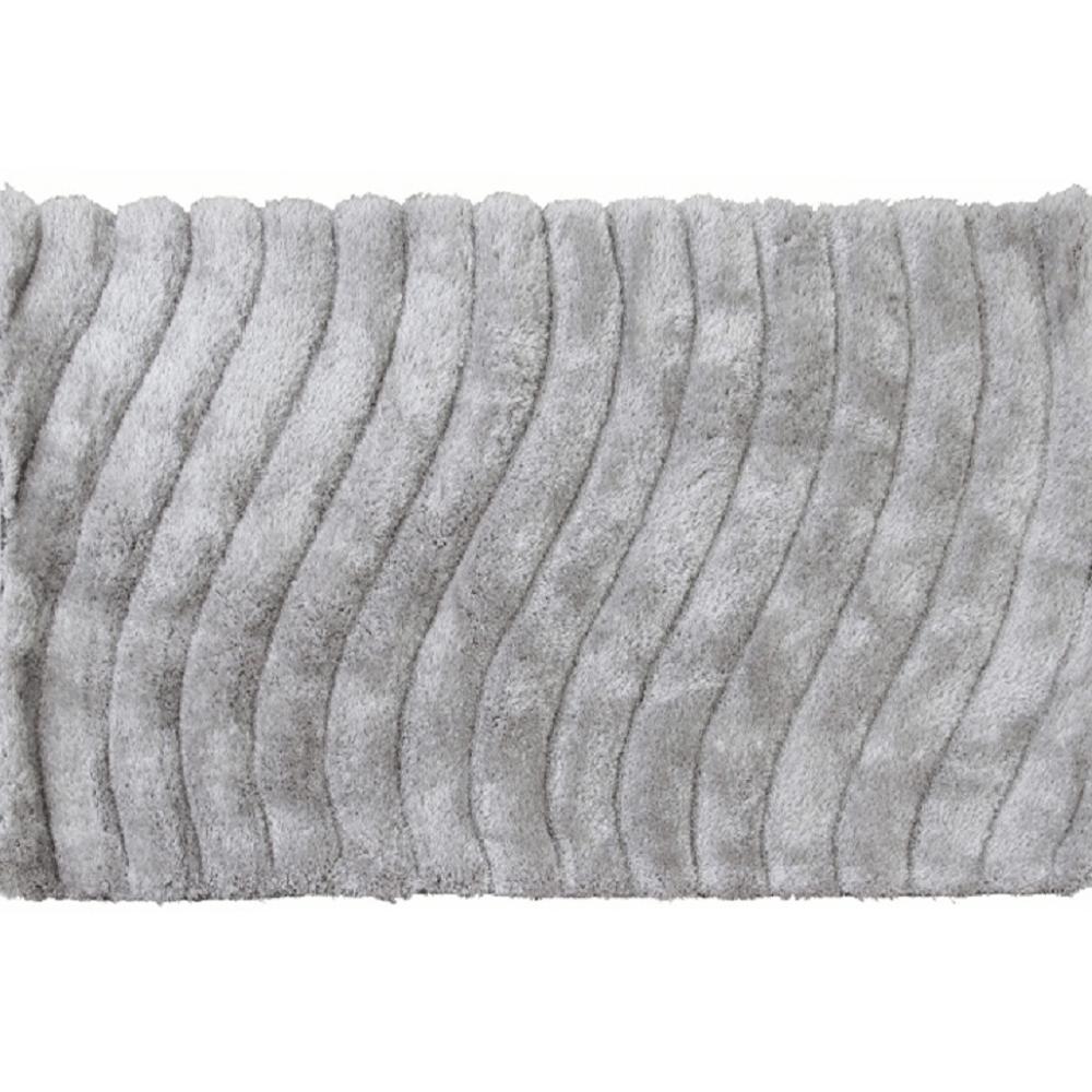 Szőnyeg, fehér-szürke, 140x200, SELMA