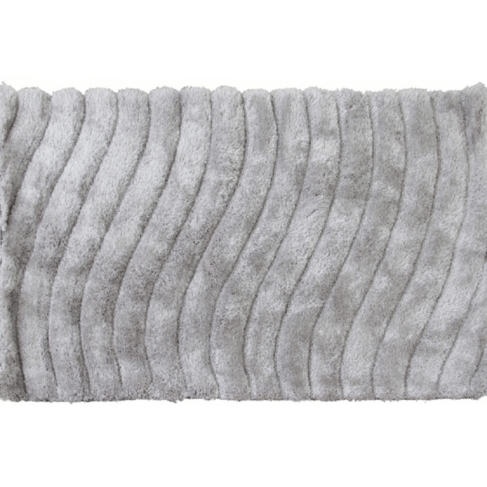 Szőnyeg, fehér-szürke, 200x300, SELMA