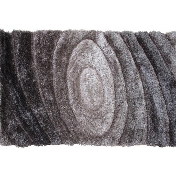 Koberec, sivý, vzor, 200x300, VANJA