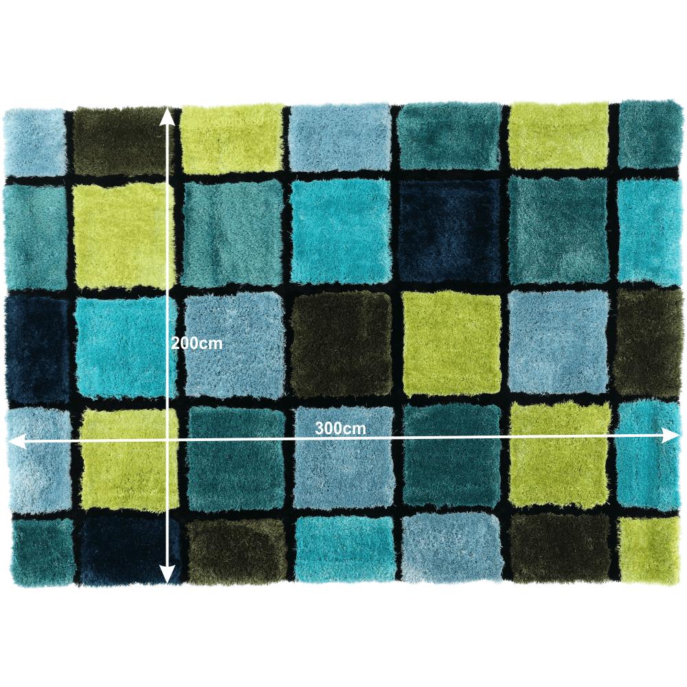 Covor 200x300 cm, mix de culori, LUDVIG