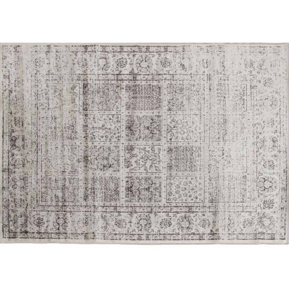 Vintage szőnyeg, szürke, 100x140, ELROND