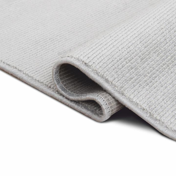 Koberec, sivá, 160x230, detail na prehyb, FRODO