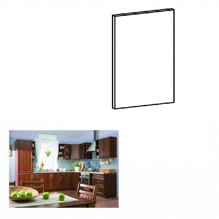 Dvierka na vstavanú umývačku riadu, 59,6x57, orech Milano, SICILIA