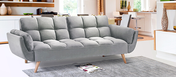 Canapele extensibile - Verde