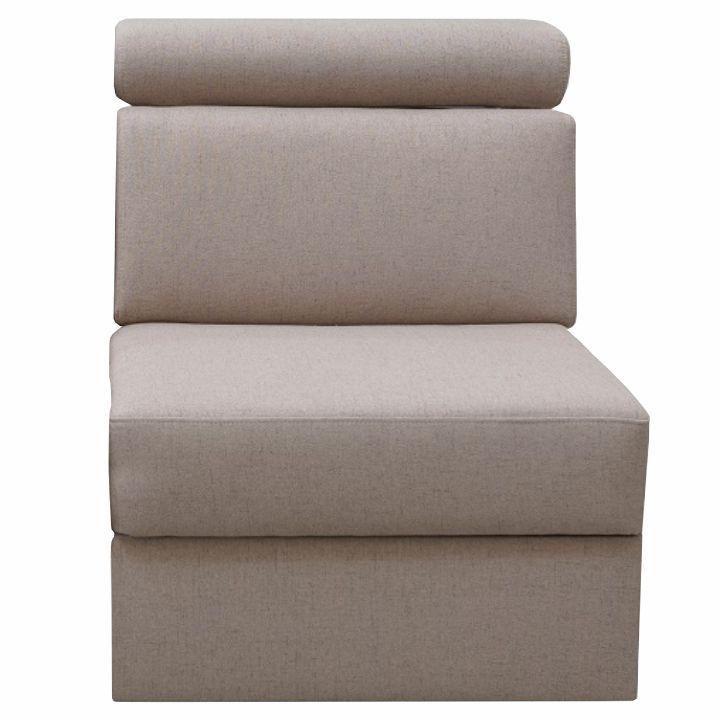 Egyes ülő 1 BB  rendelésre luxus ülőgarnitúrához, bézs,  MARIETA