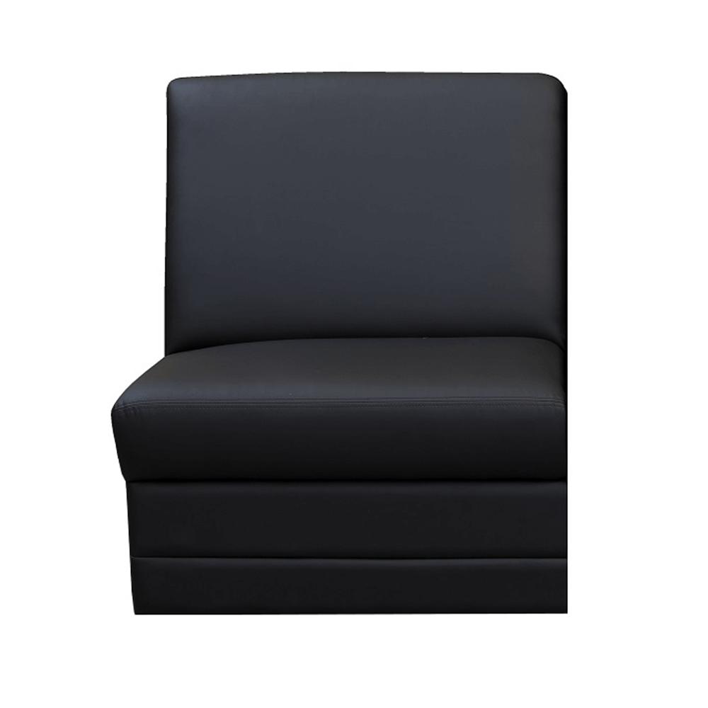 Kárpitozott egyes ülés, fekete ekobőr, BITER 1 BB rendelésre