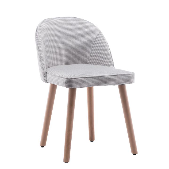 Stolička, béžový vzor, na bielom pozadí, LALIMA