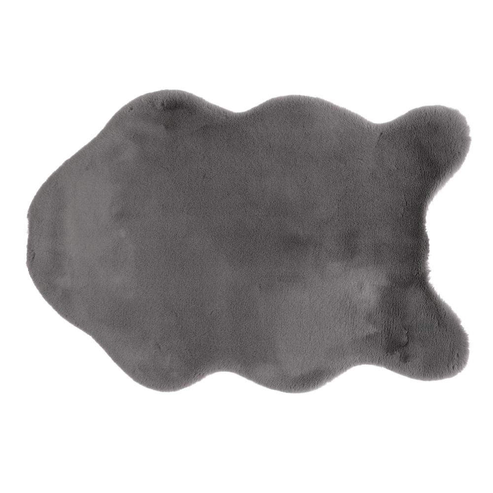 Blană artificială, gri, 60x90, RABIT TYP 4