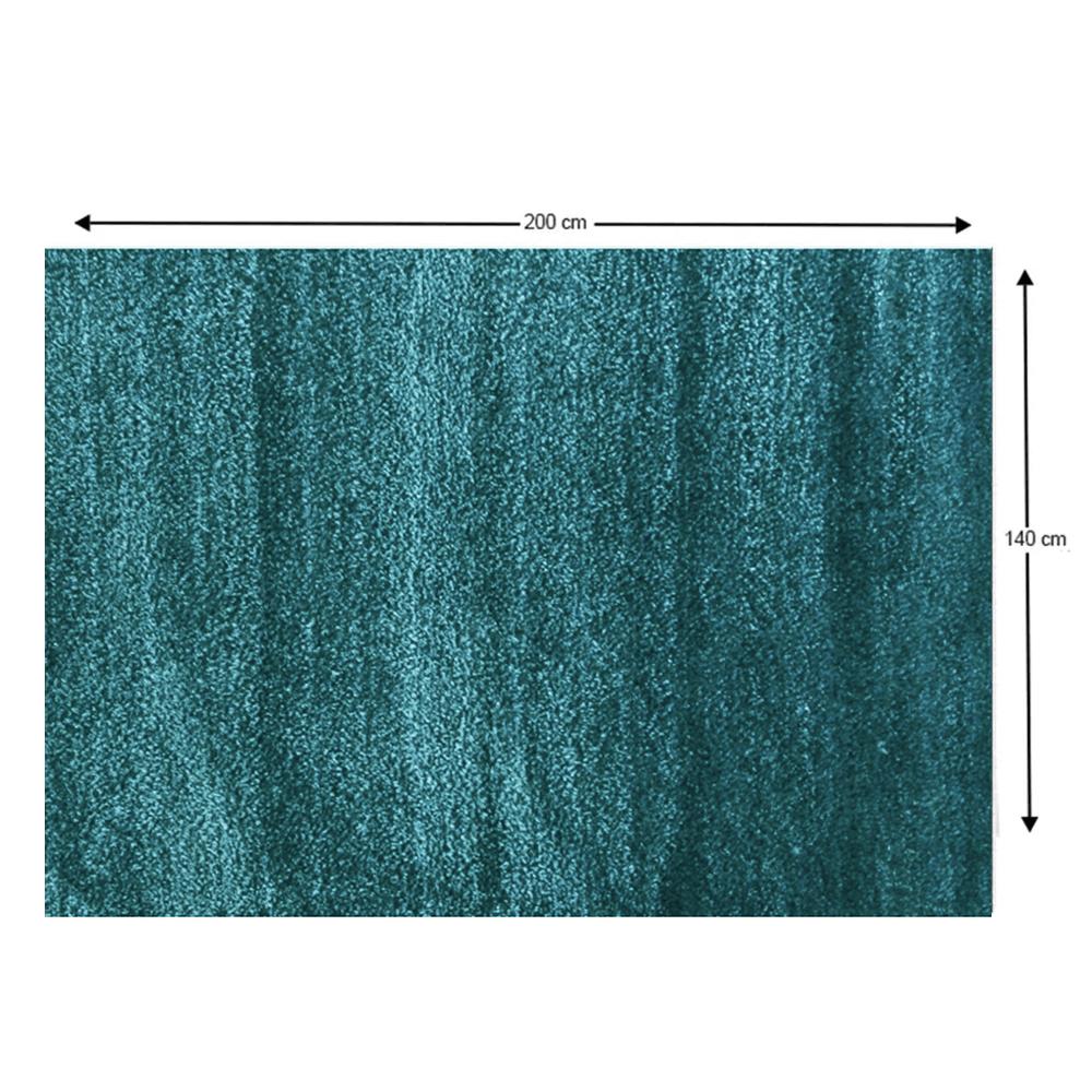 Covor, turcoaz, 140x200, ARUNA