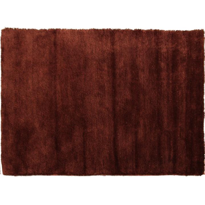 Szőnyeg, bordóbarna, 100x140, LUMA