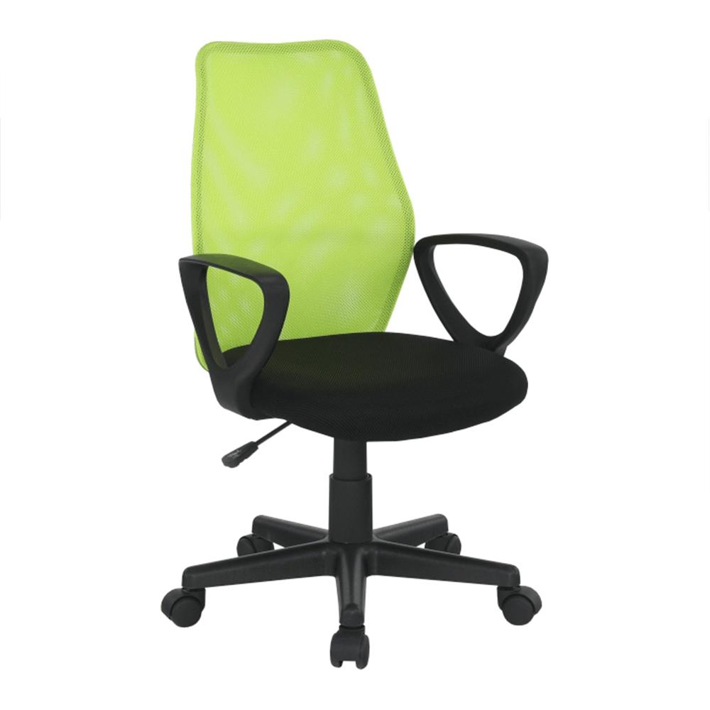 Scaun de birou, verde/negru, BST NEW 2011