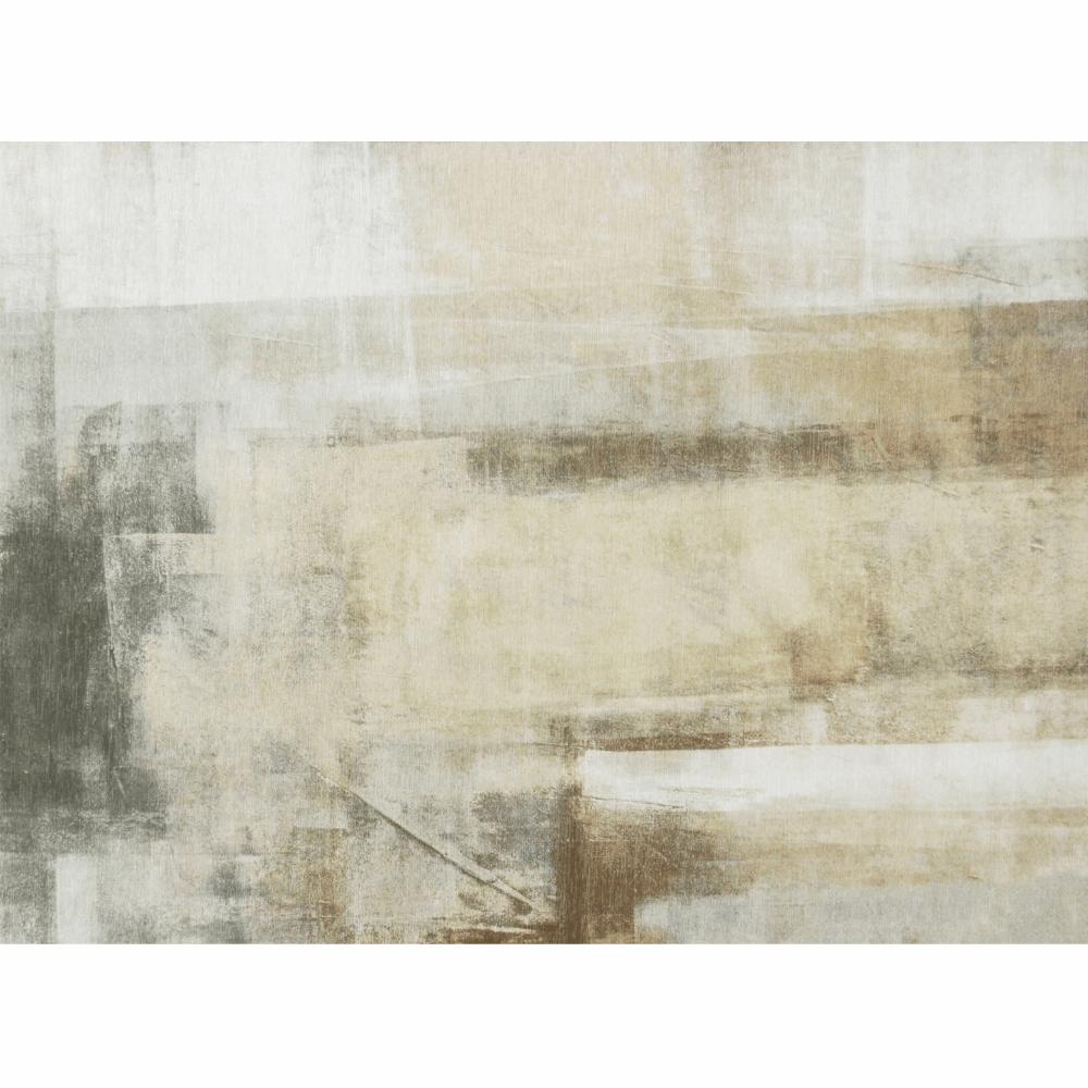Szőnyeg, barna/szürke, 80x150, ESMARINA TIP 1
