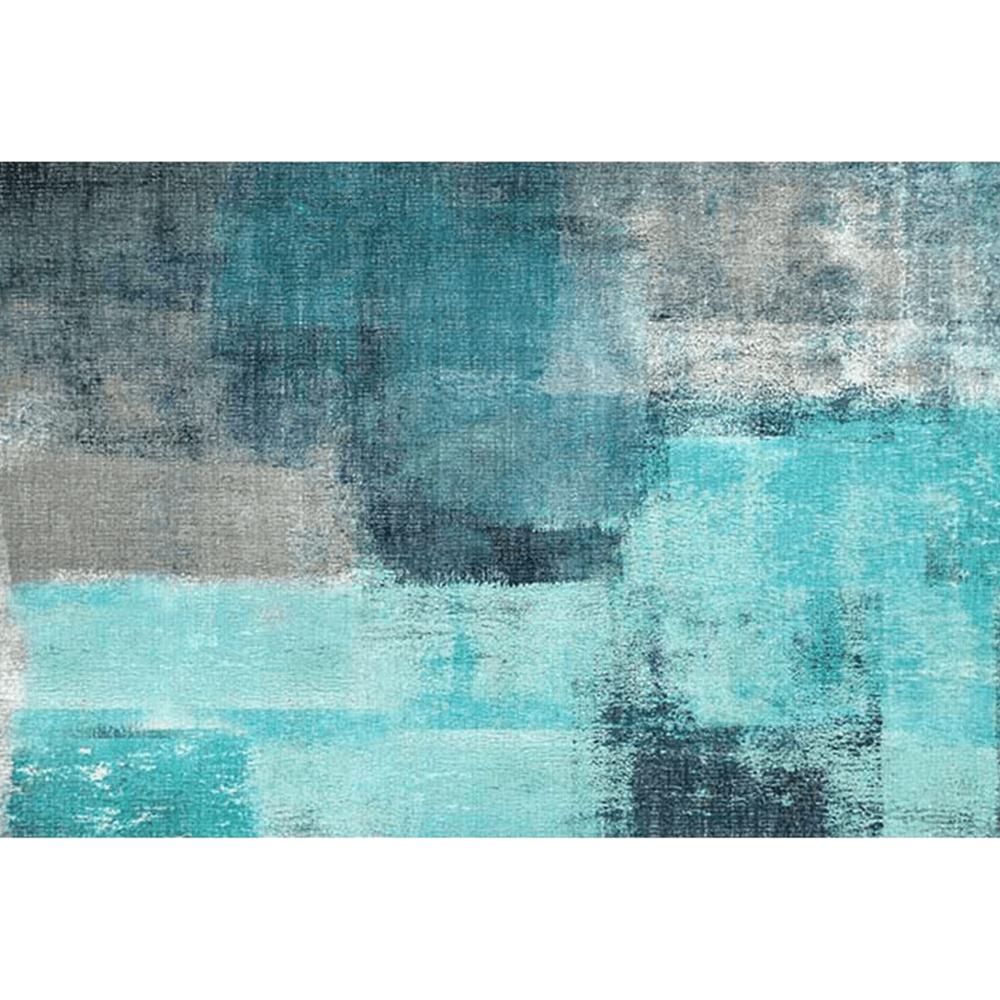 Covor 160x230 cm, albastru/gri, ESMARINA TYP 2