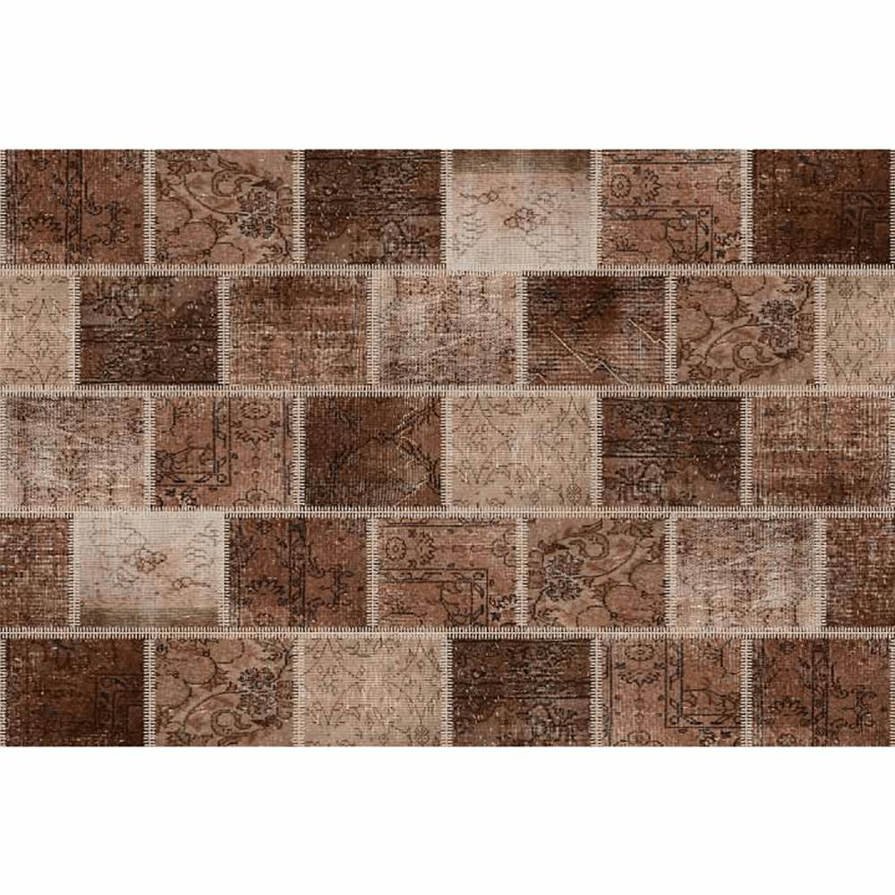 Covor 80x150 cm, maro, ADRIEL TYP 2