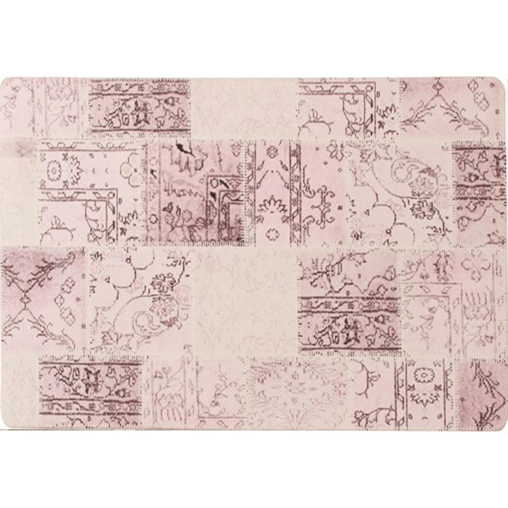 Szőnyeg, rózsaszín, 80x150, ADRIEL TIP 3