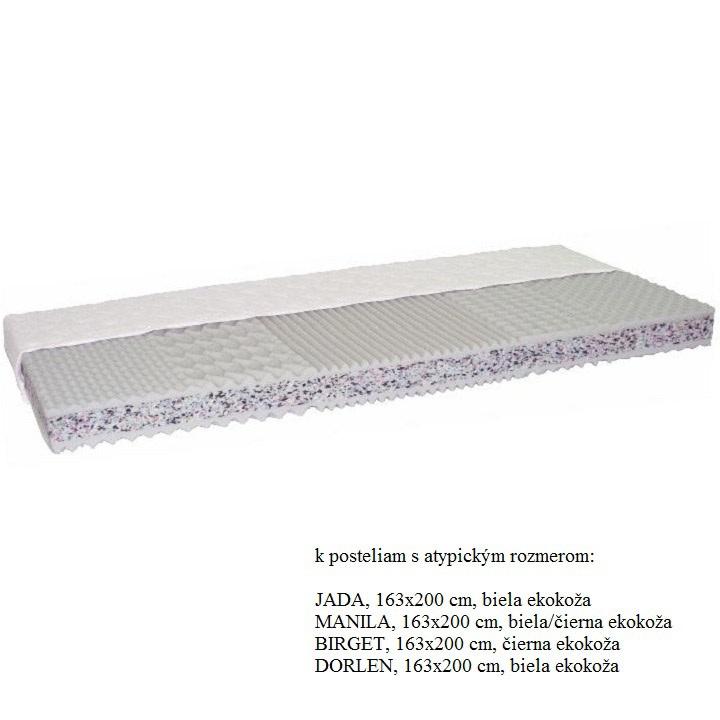 Matrac, 163x200, CATANIA ECO ATYP, na bielom pozadí
