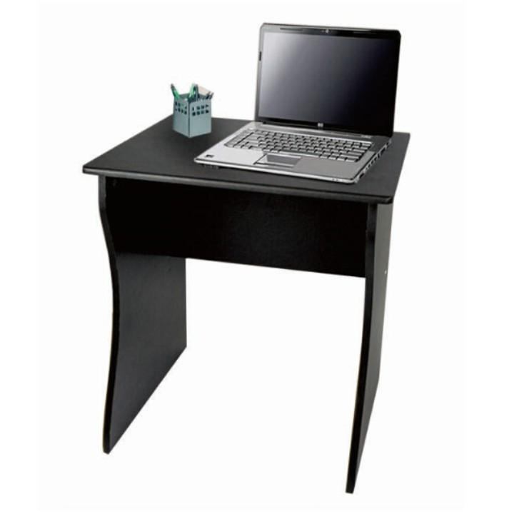 Písací stôl, čierna farba, z DTD laminovanej, TORVI, na bielom pozadí
