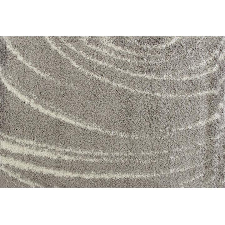 Koberec, sivá, 67x120, DORIAN